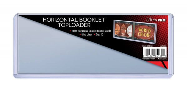 Ultra Pro Horizontal Booklet Toploader - Pack of 10