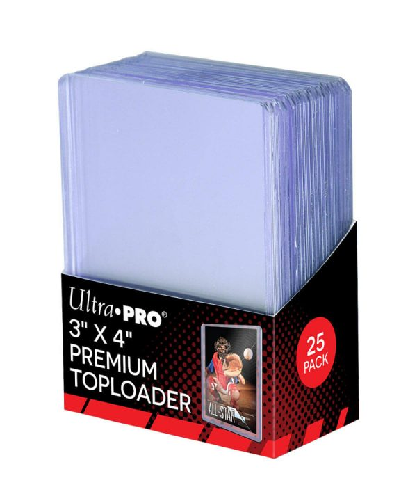 Ultra Pro Premium Toploader - Pack of 25