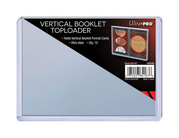Ultra Pro Vertical Booklet Toploader - Pack of 10