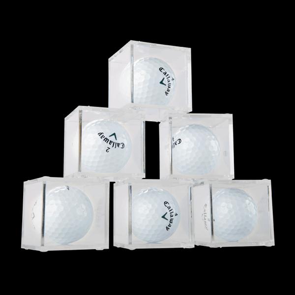 BallQube Golf Ball Display Cases