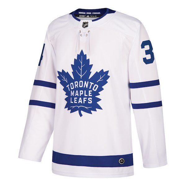 Auston Matthews Toronto Maple Leafs Adidas Authentic Autographed White Pro Jersey