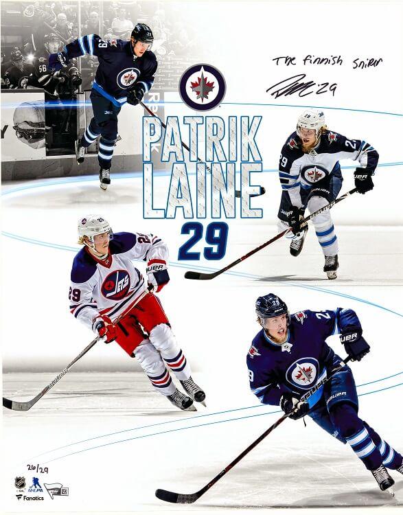 Patrick Lane Autographed Print