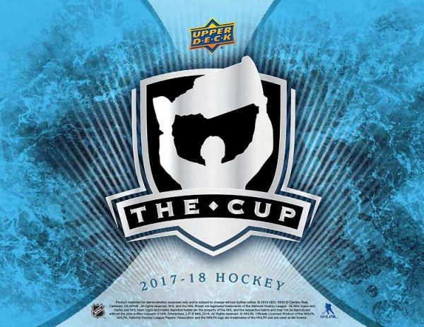 2017-18 Upper Deck The Cup Hockey
