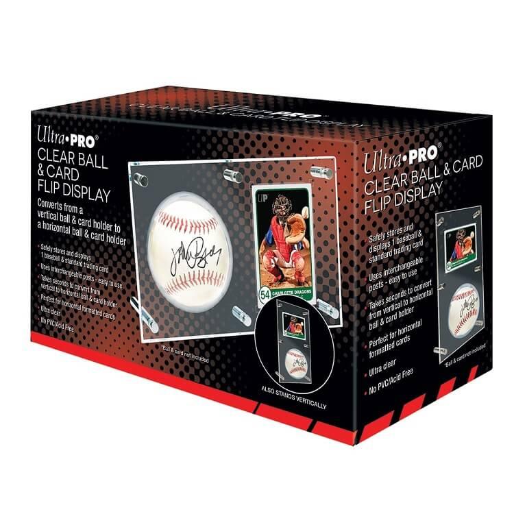 Ultra Pro Clear Ball Card Flip Display