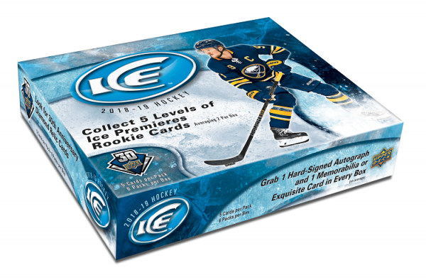 18-19 Upper Deck Ice Hockey Hobby