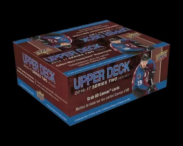 2016-17 Upper Deck Series 2 Retail Box