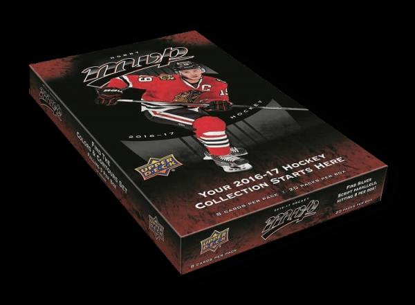 2016-17 Upper Deck MVP Hockey Hobby Box