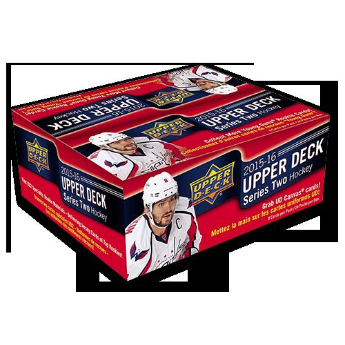 2015-16 Upper Deck Series 2 Retail Hockey Box