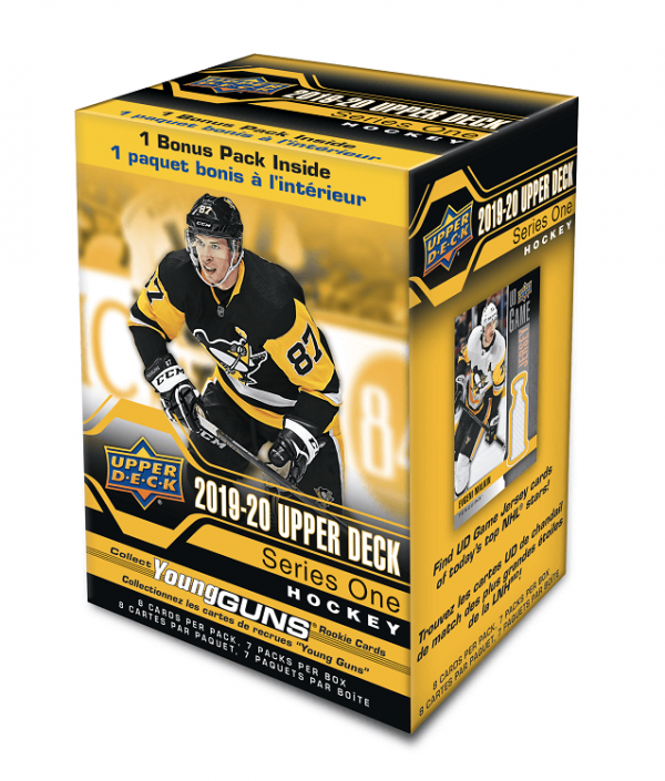 2019-20 Upper Deck Series 1 Hockey Blaster