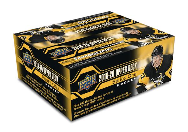2019-20 Upper Deck Series 1 Hockey Retail Box