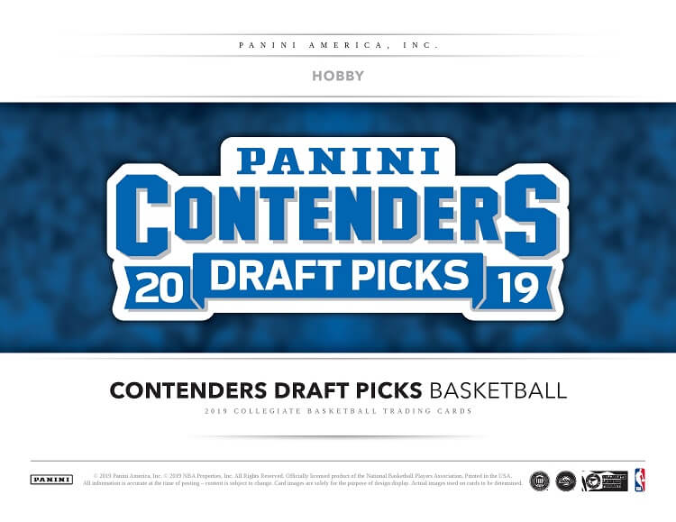2019-20 Panini Contenders Draft Picks College Basketball Hobby Box  (Pre-Sale)