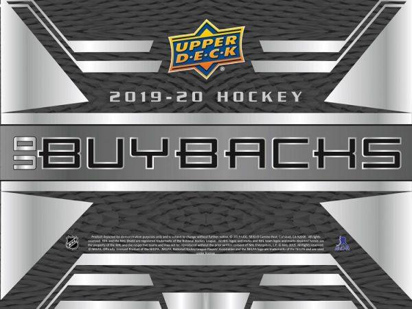 2019-20 Upper Deck Buybacks Hockey