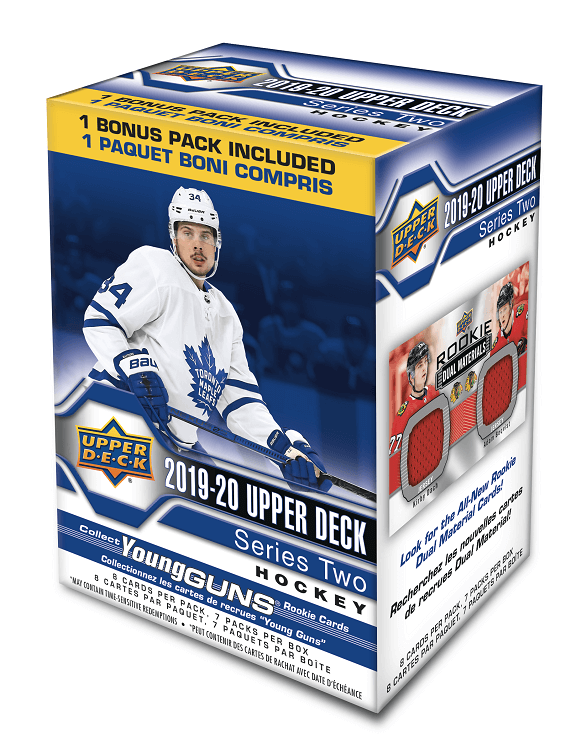 2019-20 Upper Deck Series 2 Hockey Blaster