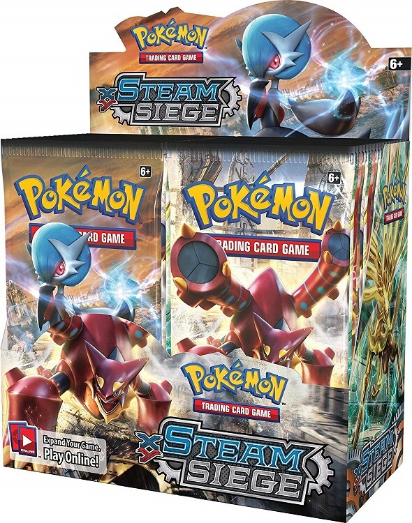 Pokemon XY11 Steam Siege
