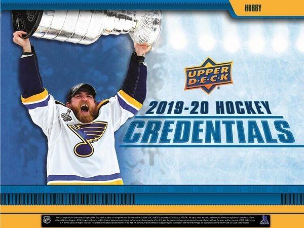 2019-20 Upper Deck Credentials Hockey