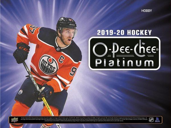 2019-20 Upper Deck O-Pee-Chee Platinum Hockey