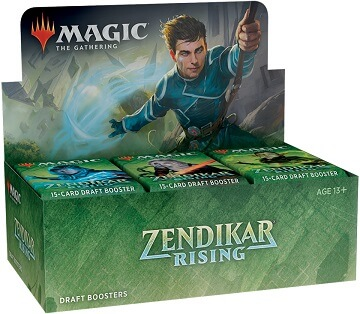 Magic The Gathering Zendikar Rising Draft Sealed Booster Box