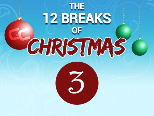 The 12 Breaks of Christmas - #3