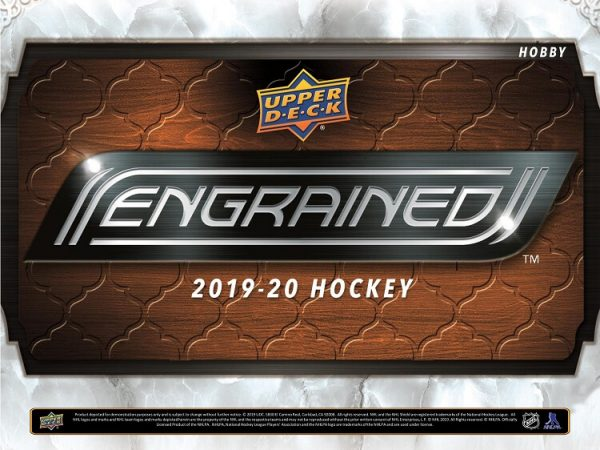 2019-20 Upper Deck Engrained Hockey
