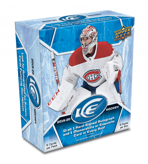 2019-20 Upper Deck Ice Box