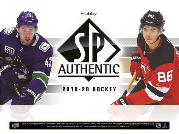 2019-20 Upper Deck SP Authentic Hockey