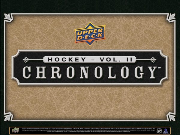 2019-20 Upper Deck Chronology