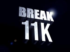Break 11k