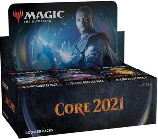 Magic The Gathering 2021 Core Set Sealed Booster Box
