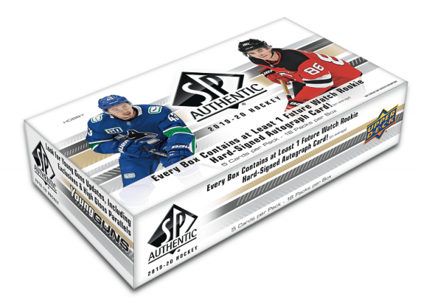 2019-20 Upper Deck SP Authentic