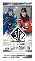 2019-20 Upper Deck SP Authentic pack
