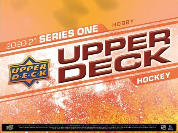 2020-21 Upper Deck Series 1 Hobby Hockey