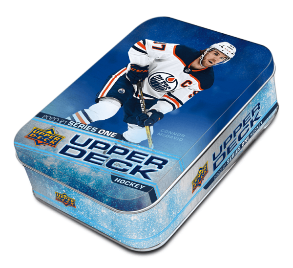 2020-21 Upper Deck Series 1 Hockey Tin