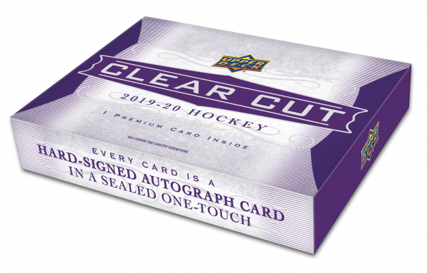 2019-20 Upper Deck Clear Cut Hockey Hobby Box