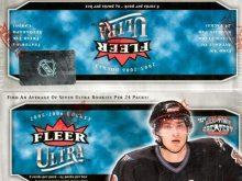 2005-06 Upper Deck Fleer Ultra Hockey Retail Box