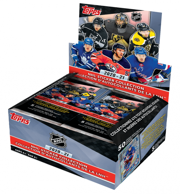 Topps NHL Stickers Box