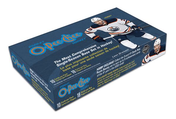 2020-21 Upper Deck O-Pee-Chee Hockey Hobby Box