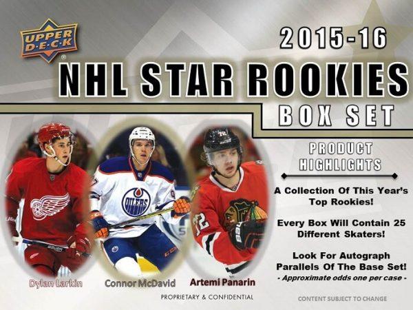 2015-16 Upper Deck Star Rookies