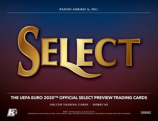 2019-20 Panini Select UEFA Euro Hybrid Soccer Hobby Box