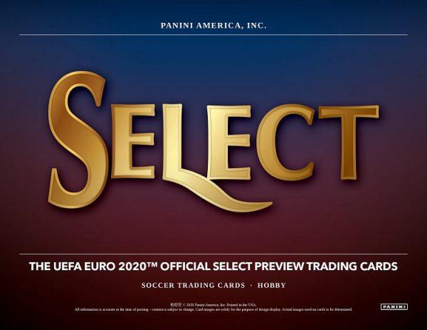 2019-20 Panini Select UEFA Euro Soccer Hobby Box