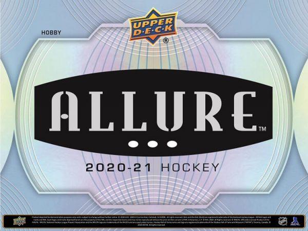 2020-21 Upper Deck Allure Hobby Hockey