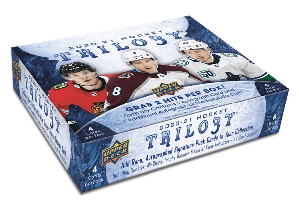 2020-21 Upper Deck Trilogy Hockey Hobby Box