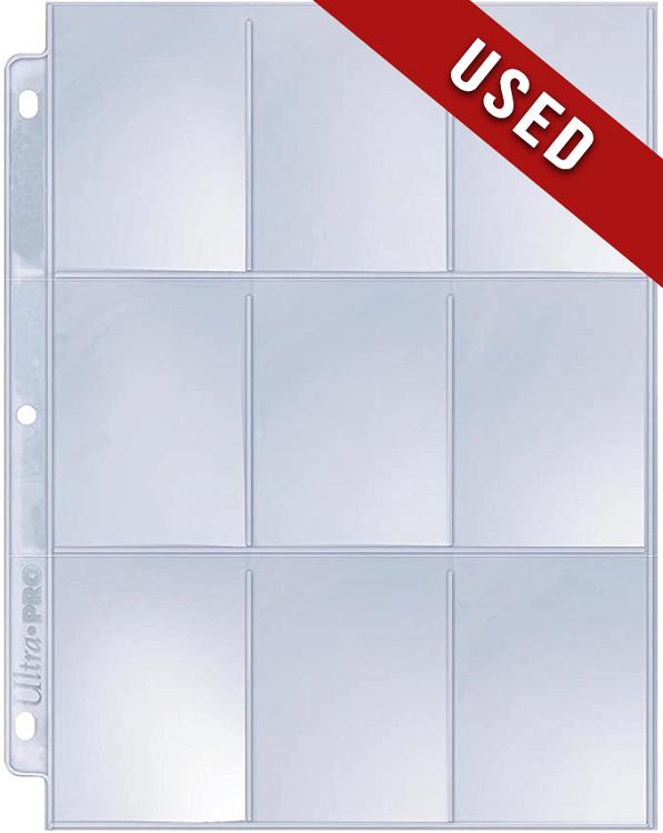 Ultra Pro 9 Pocket Page - Used