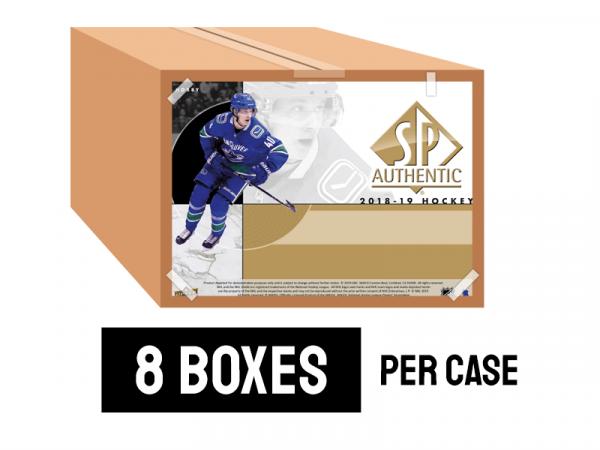 18-19 SP Authentic - 8 boxes per case