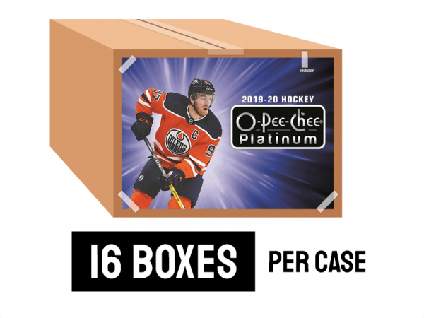 19-20 O-Pee-Chee Platinum - 16 boxes per case