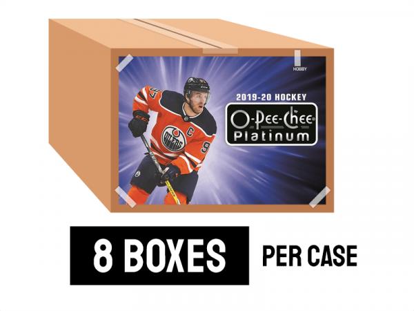 19-20 O-Pee-Chee Platinum - 8 boxes per case