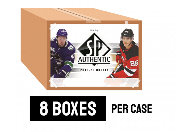 19-20 SP Authentic - 8 boxes per case