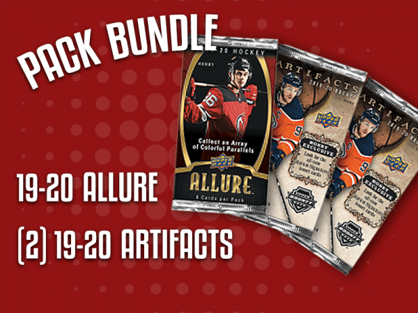 Pack Bundle - Contains 1 19-20 Allure, and 2 19-20 Artifacts Packs