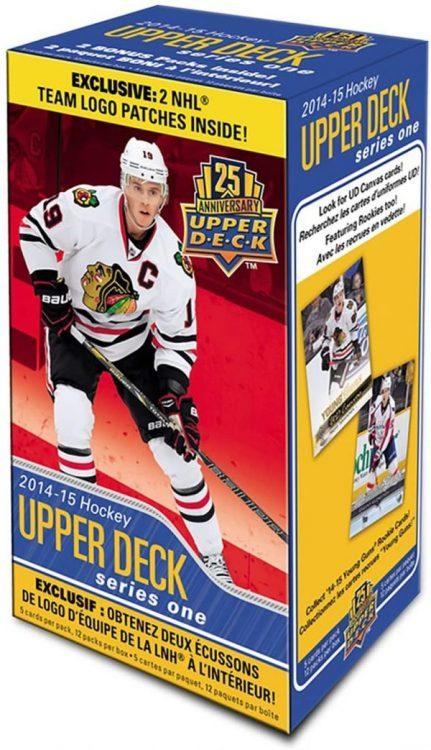 2014-15 Upper Deck Series 1 Blaster Box