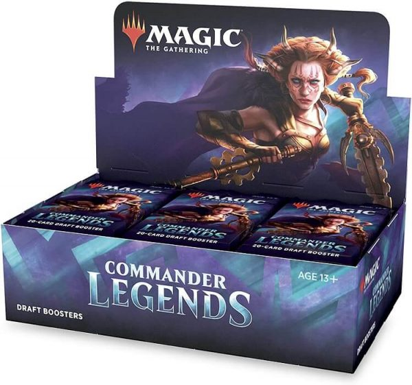 Magic The Gathering Commander Legends Draft Sealed Booster Box