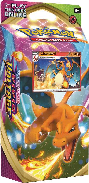 Pokemon TCG Sword and Shield Vivid Voltage Charizard Theme Deck